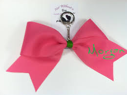 Small Picture Not Without A Bow Custom Unique Affordable Cheer Bows