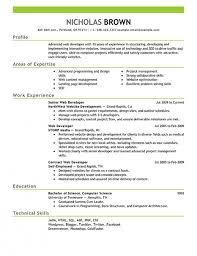 Front End Developer Resume Objectiveresume Template Front End Developer  Resume Example Front End