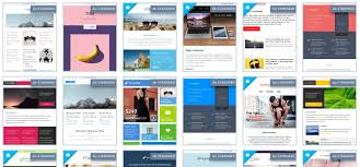Free Newsletter Layouts 40 Free Newsletter Templates Tips You Can Use Today