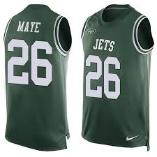 York 26 Jersey Maye Marcus New Jets