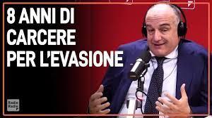 Pene per l'evasione... come per un violentatore ▻ Enrico Michetti - YouTube