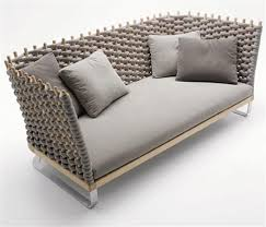 paola lenti outdoor furniture as art