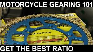 Chain And Sprocket 101 Gearing Up Gearing Down Finding The Best Gear Ratio