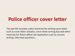 Police Cover Letter Sample Sarahepps Com