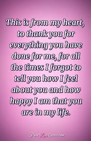 My Purpose In Life Quotes Beauteous This Is From My Heart To Thank You For Everything You Have Done For