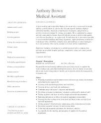 Medical Administration Resume Examples Dew Drops