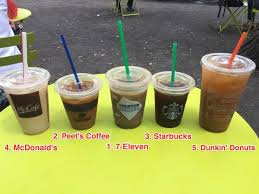 Dunkin' donuts started as a donut bakery shop back in 1950 in quincy, massachusetts and since has become a dunkin' donuts brewed coffee. Which Chain Has The Best Iced Coffee