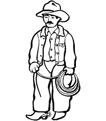 Small Picture Cowboy coloring pages with lasso ColoringStar