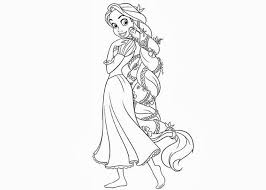 Small Picture Rapunzel Colouring Pages Black White Rapunzel Coloring Pages In