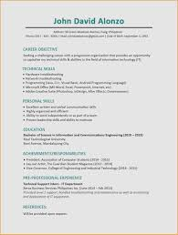 Security Analyst Resume Awesome Personal Skills For Resume Awesome