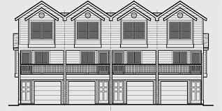 4 Plex House Plans Multiplexes QuadPlex PlansQuadplex Plans