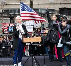 Secret Service to investigate Madonna Daily Mail Online Mirren and Sex And The City s Nixon at the Women s solidarity march in New York on