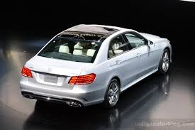 new car launches june 20142014 Mercedes E Class to be launched in India on June 25th