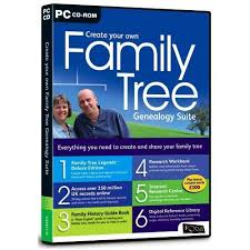 Make A Family Tree Online Free Amazon Com Create Your Own Family Tree Genealogy Suite Pc