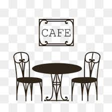 cafe table and chairs png. black cafe chairs vector material download, coffee shop, table, paintings png and table png r