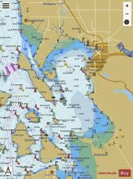 Burrard Inlet Depth Chart Bellingham Bay Marine Chart Us18424_p1677 Nautical