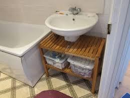 ikea ers molger shelving unit under sink