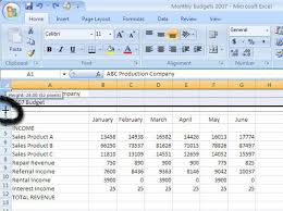 How To Change Column Width And Row Height In Excel 2007