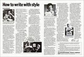 how to write style by kurt vonnegut click to embiggen