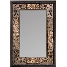 decorative bathroom mirror rectangle. Amazon.com: Head West French Tile Mirror, 27-inch By 36-inch: Home \u0026 Kitchen Decorative Bathroom Mirror Rectangle Amazon.com