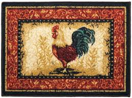Rooster Area Rugs Kitchen Kitchen Rooster Kitchen Rugs For Exquisite Accent Rooster