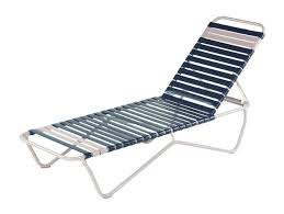 st lucia vinyl strap chaise lounge with commercial aluminum frame