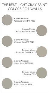 Light Gray Paint Color For Living Room The Best Light Gray Paint Colors For Walls Jillian Lare