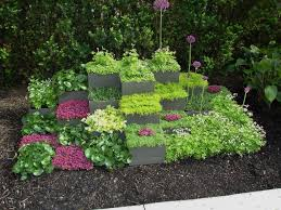 Small Picture Lawn Garden Cute Small Garden Decor Ideas With Grey Cubical