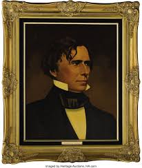 Franklin Pierce and Jane Pierce Oil Portraits by Lawrence Williams. | Lot  #61217 | Heritage Auctions