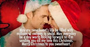 Christmas Quotes About Love Fascinating Christmas Messages For Girlfriend Romantic Wishes WishesMsg