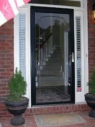 front storm doorsFull of options to choose from Pella Fullview storm doors will