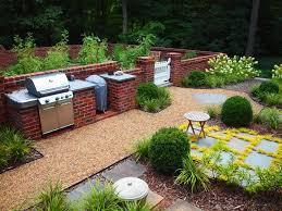 Small Picture Extraordinary Garden Brick Wall Design Ideas Landscape Traditional