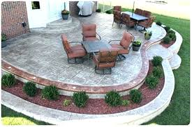how much for concrete patio how much does stamped concrete cost stamped concrete patio reviews