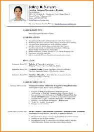 Junior Interior Designer Resume Sample Tjfs Journal Org