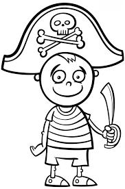 Disegno Da Colorare Pirata Disegni Mammafelice