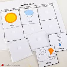Free Printable Weather Chart for Home or School -
