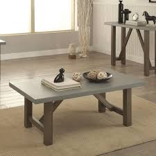 avondale coffee table and end tables rustic looking coaster driftwood finish coffee table with concrete look