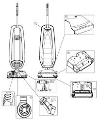 oreck u7010ecs xl insight parts and accessories partswarehouse oreck u7010ecs