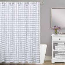 stylish extra wide shower curtain applied to your residence design