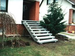 Aussentreppe.sanieren mit großen frostsicheren fliesen stufen und die treppe außen abdichten. Aussentreppen Aus Granit Oder Waschbeton