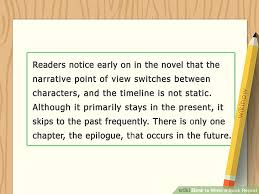 how to write a book report how to write a book report with sample reports wikihow