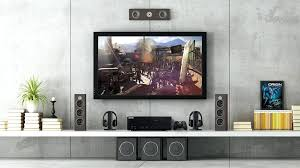 speaker stands entertainment center for gaming storage tower white long floating shelf game wall mount klipsch