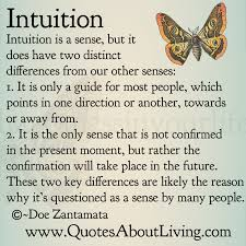 Intuition Quotes Awesome Quotes About Living Doe Zantamata Intuition How It's Different