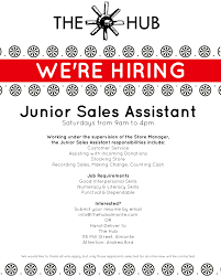 what is the role of a s assistant inspirenow job opportunity at the hubtagged almonte hub job junior s assistant