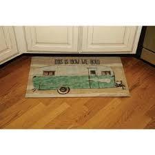 kitchen floor mats. Plain Kitchen How We Roll IndoorOutdoor Mat  Intended Kitchen Floor Mats