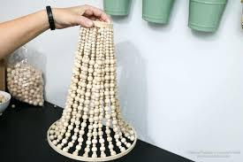 wood beaded chandelier gold chandelier beaded how to make a wood bead chandelier design wood beaded