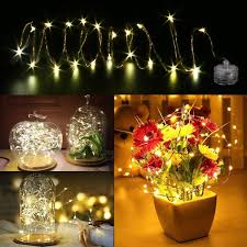 Cutting Micro Led String Lights 14 99 Amazon Com Led Starry String Lights 8pcs 6 5foot