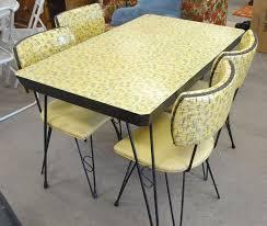 popular vintage metal kitchen table
