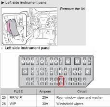 what fuse is for the front wipers? priuschat 2010 toyota prius headlight fuse at 2010 Prius Fuse Box Diagram