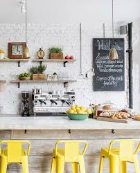 yellow stools furniture. view in gallery vintagethemed kitchen with a bright yellow bar stools furniture